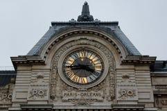 巴黎,法国- 2013年11月29日- d'Orsay的Musee 库存照片
