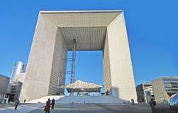 盛大曲拱,巴黎 免版税库存照片