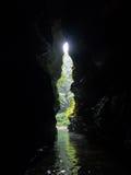洞,瓦努阿图 库存照片