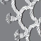 绳索,网络 免版税图库摄影