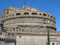 19 06 2017年,罗马,意大利:圣洁天使, Hadrian M的城堡 免版税库存图片
