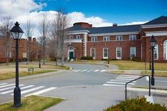 06 04 2011年,美国,哈佛大学, Spangler 免版税库存照片