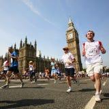 2013年,英国10km伦敦马拉松 库存图片