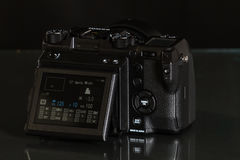 28 05 2017年,萨格勒布,克罗地亚:Fujifilm GFX 50S, 51 megapixels, 图库摄影