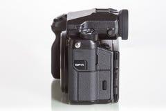 28 05 2017年,萨格勒布,克罗地亚:Fujifilm GFX 50S, 43 8 x 32 9mm 5 免版税库存照片