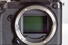 28 05 2017年,萨格勒布,克罗地亚:Fujifilm GFX 50S, 43 8 x 32 9mm 5 免版税图库摄影