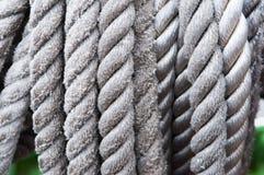绳索,索具,绳索,绳子,系泊缆,麻线,带子,绳子 免版税库存照片