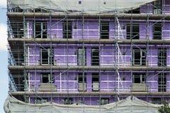 08/22/2017,维多利亚大道,在海,艾塞克斯,英国,建筑工作的Southend 免版税库存照片
