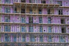 08/22/2017,维多利亚大道,在海,艾塞克斯,英国,建筑工作的Southend 库存照片