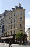 巴黎, 8月16,2013大厦 免版税库存照片