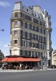 巴黎, 8月16,2013大厦 免版税库存图片