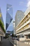 巴黎, 7月16日:拉德芳斯建设在从法国的巴黎 免版税库存图片