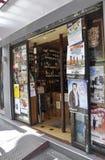巴黎, 7月17日:酒店在蒙马特在巴黎 免版税库存图片