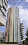 巴黎, 7月16日:防御摩天大楼从巴黎的在法国 免版税库存照片