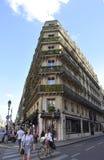 巴黎, 7月18日:从巴黎的历史建筑在法国 库存图片