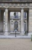 巴黎, 7月19日:从巴黎的Vendome历史大厦庭院雕象在法国 库存照片