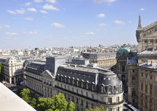 巴黎, 7月15日:巴黎鸟瞰图从法国的 库存图片