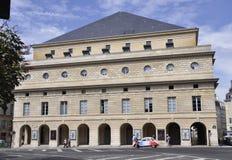 巴黎, 8月15,2013-ODEON剧院 免版税图库摄影