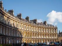 浴, SOMERSET/UK - 10月02日:马戏的议院在如此巴恩 库存照片