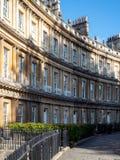 浴, SOMERSET/UK - 10月02日:马戏的议院在如此巴恩 免版税库存图片