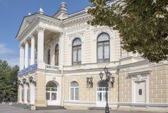 2016年:学术青年剧院;建筑师尼古拉Durbach;1899 图库摄影