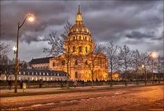 巴黎:荣军院 免版税库存图片