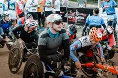 2016年 09 25 :IV莫斯科马拉松 免版税库存照片