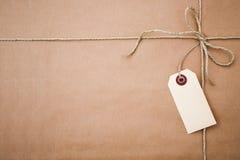 δέμα καφετιού εγγράφου Στοκ φωτογραφία με δικαίωμα ελεύθερης χρήσης
