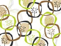 δέντρα γήινων αναδρομικά δ&alph Στοκ εικόνες με δικαίωμα ελεύθερης χρήσης