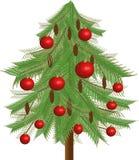 δέντρο έλατου Χριστουγέν Στοκ φωτογραφία με δικαίωμα ελεύθερης χρήσης