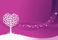 δέντρο αγάπης Στοκ εικόνες με δικαίωμα ελεύθερης χρήσης