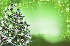 δέντρο απεικόνισης Χριστ&omic Στοκ Εικόνα