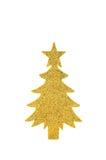 δέντρο εγγράφου sparkly Στοκ εικόνες με δικαίωμα ελεύθερης χρήσης