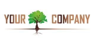 δέντρο λογότυπων Στοκ φωτογραφία με δικαίωμα ελεύθερης χρήσης