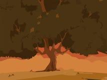Δέντρο backgound Στοκ Φωτογραφίες