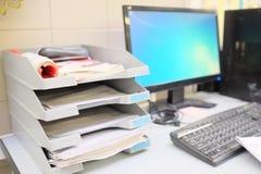 Δίσκος εγγράφων Στοκ Φωτογραφία