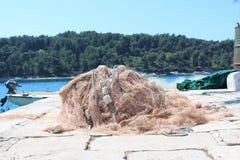 Δίχτυα ψαράδων Στοκ Φωτογραφία