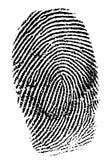 δακτυλικά αποτυπώματα Στοκ φωτογραφίες με δικαίωμα ελεύθερης χρήσης