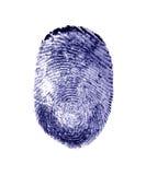δακτυλικό αποτύπωμα Στοκ εικόνα με δικαίωμα ελεύθερης χρήσης