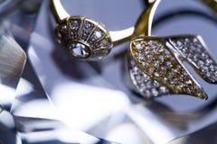 δαχτυλίδι διαμαντιών Στοκ Φωτογραφία