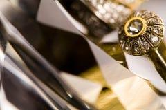 δαχτυλίδι διαμαντιών Στοκ εικόνα με δικαίωμα ελεύθερης χρήσης