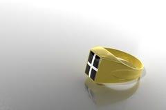 δαχτυλίδι signet Στοκ Φωτογραφίες