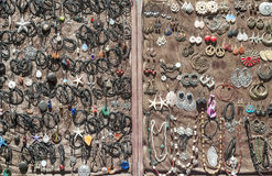 Δαχτυλίδια και περιδέραια βραχιολιών Στοκ φωτογραφία με δικαίωμα ελεύθερης χρήσης