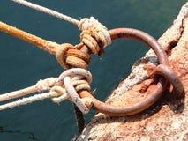Δαχτυλίδι και σχοινιά Στοκ Φωτογραφίες