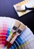 δείγματα χρώματος Στοκ εικόνες με δικαίωμα ελεύθερης χρήσης