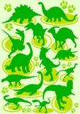 δεινόσαυροι Στοκ Φωτογραφία