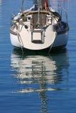 δεμένη βάρκα Στοκ Φωτογραφία