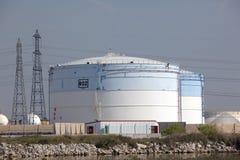 δεξαμενές αερίου Στοκ φωτογραφίες με δικαίωμα ελεύθερης χρήσης