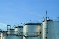 δεξαμενές αερίου Στοκ Φωτογραφίες