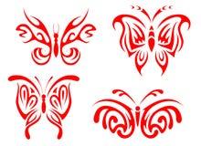 δερματοστιξία πεταλούδ&om Στοκ Εικόνες